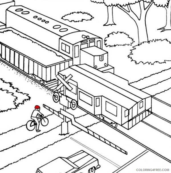 Train Coloring Pages | 607x600