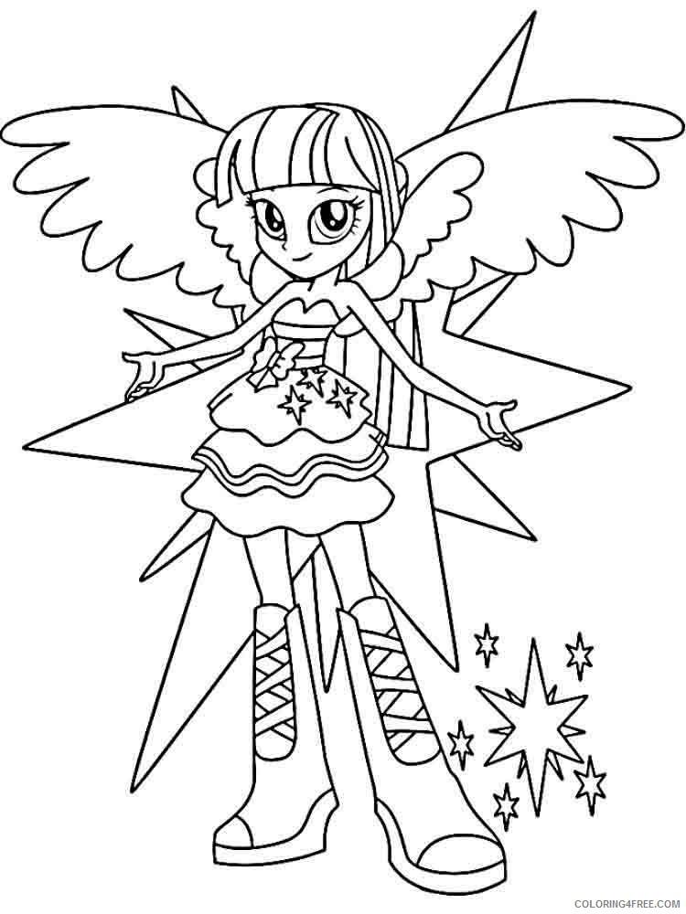 - Twilight Sparkle Equestria Girls Coloring Pages Coloring4free -  Coloring4Free.com