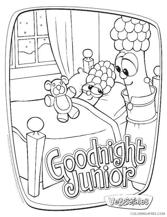 Veggie Tales Coloring Pages Printable - Coloring Home | 720x556