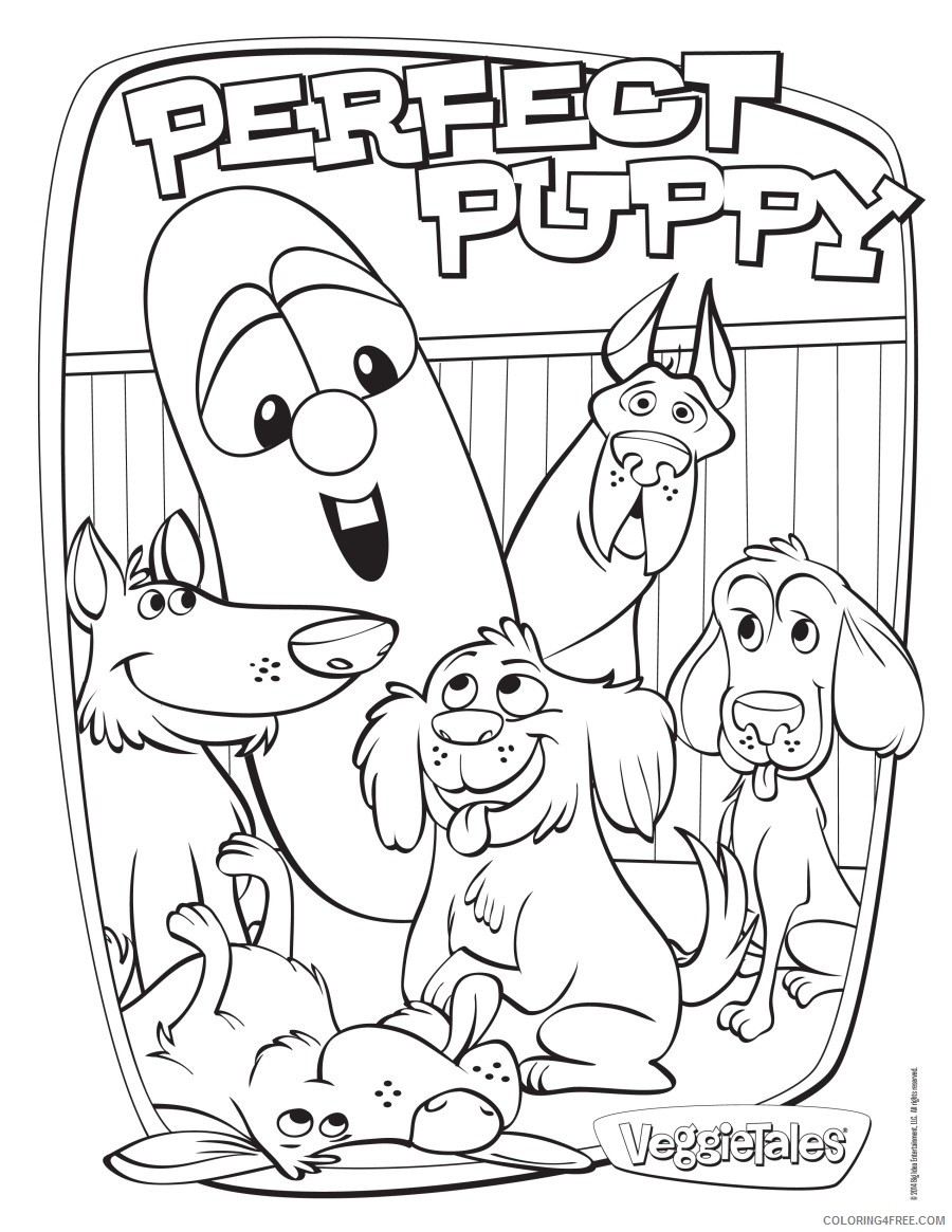 Image 7 Veggie Tales Christian Coloring Pages Coloring Pages ... | 1165x900