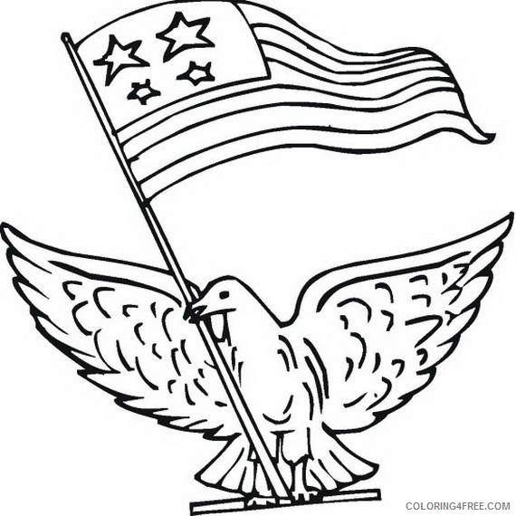 Veterans Day Coloring Pages Free To Print Coloring4free - Coloring4Free.com