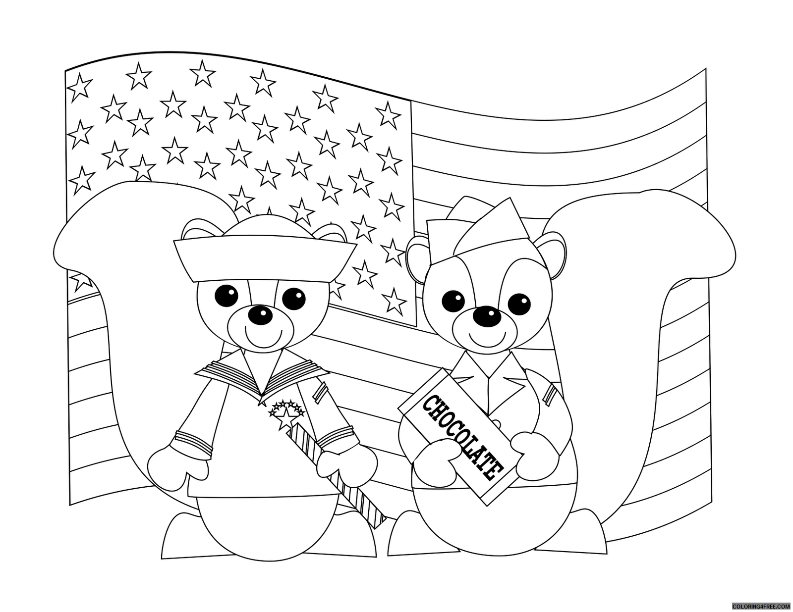- Veterans Day Coloring Pages Printable For Kids Coloring4free