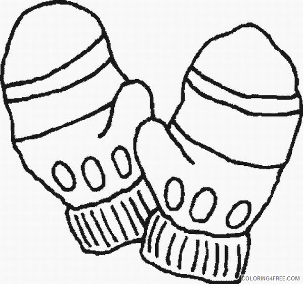 Winter Coloring Pages For Preschoolers Coloring4free - Coloring4Free.com