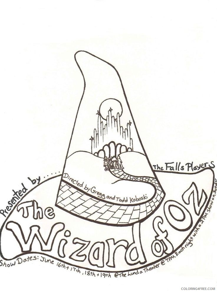 Free Wizard Coloring Page, Download Free Clip Art, Free Clip Art ... | 989x736