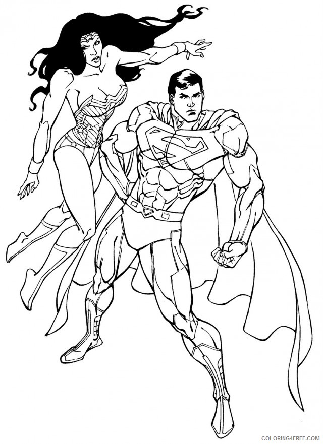 Wonder Woman Coloring Pages Pictures - Whitesbelfast | 881x640