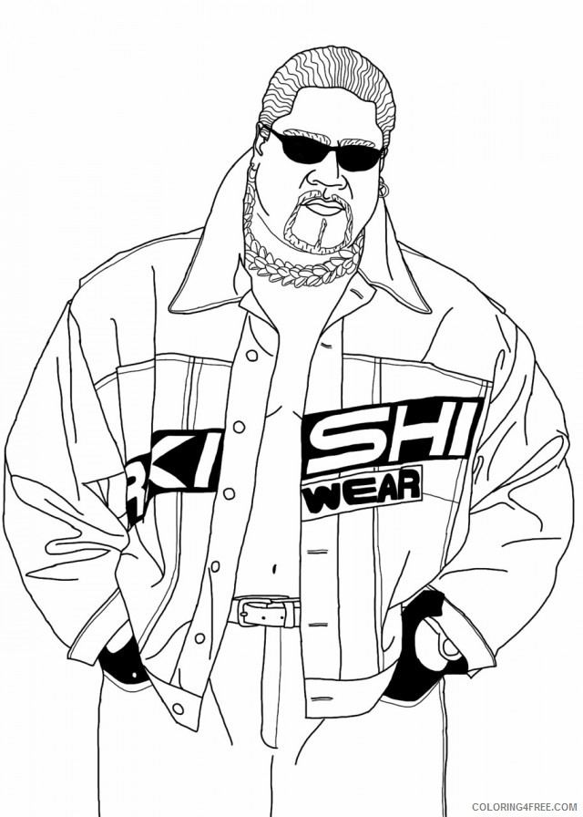 - Wwe Coloring Pages Printable Free Coloring4free - Coloring4Free.com