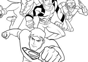 DC Comics Super Heroes #136 (Superheroes) – Printable coloring pages | 210x296