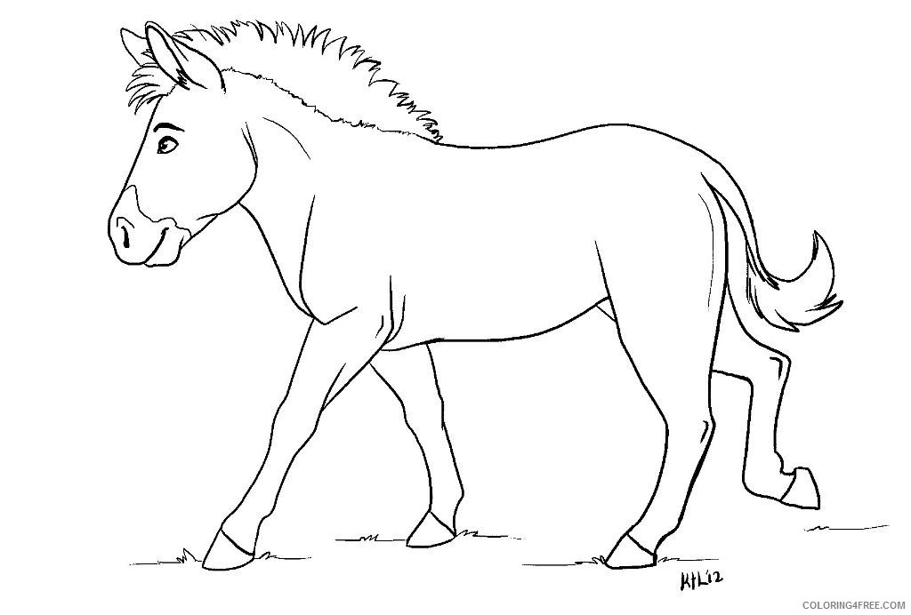 - Zebra Coloring Pages Without Stripes Coloring4free - Coloring4Free.com