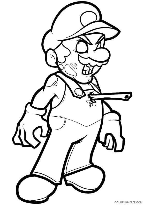 Mario Kart Coloring Pages - GetColoringPages.com | 842x595