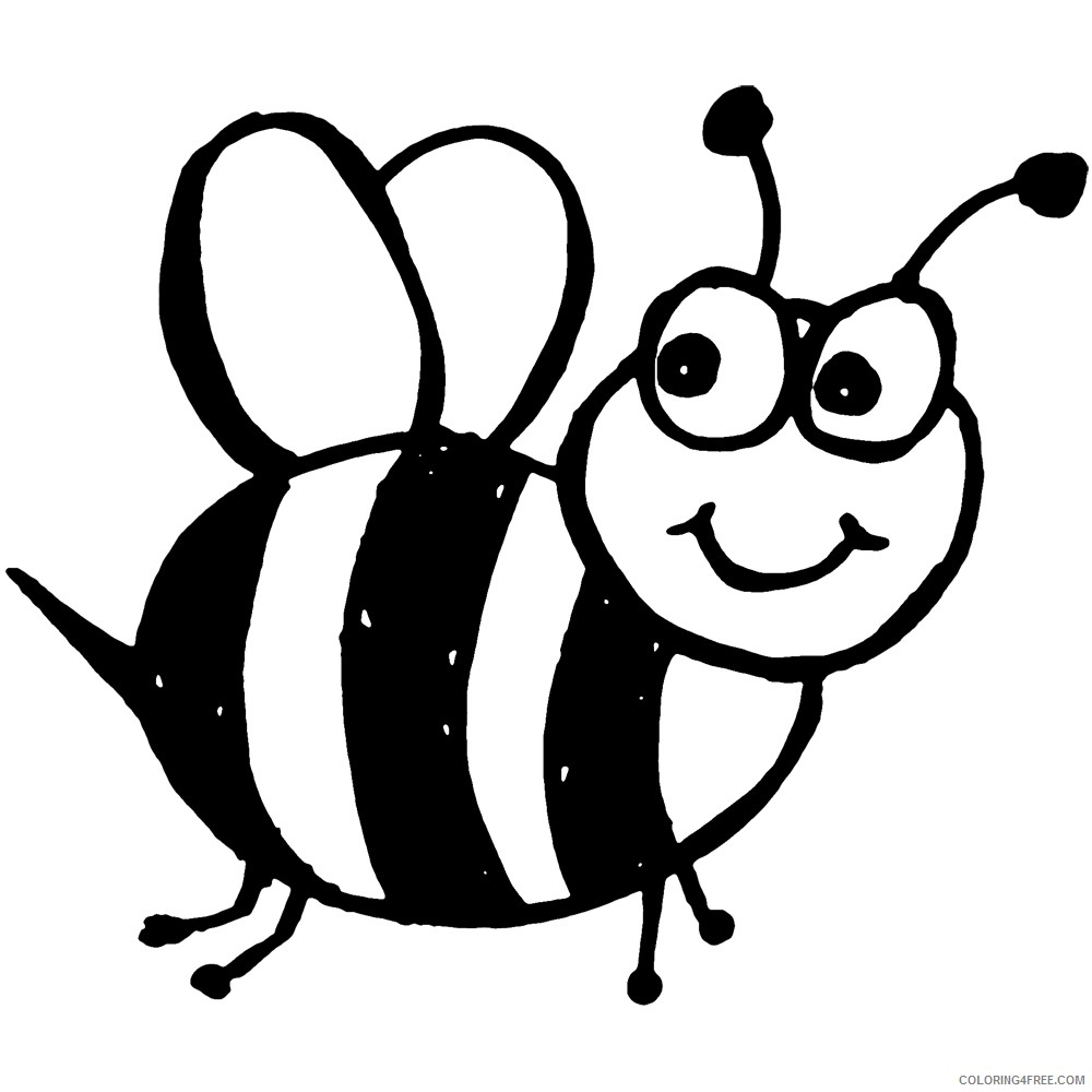 10 bee printable that you can download to you yD4RvJ coloring