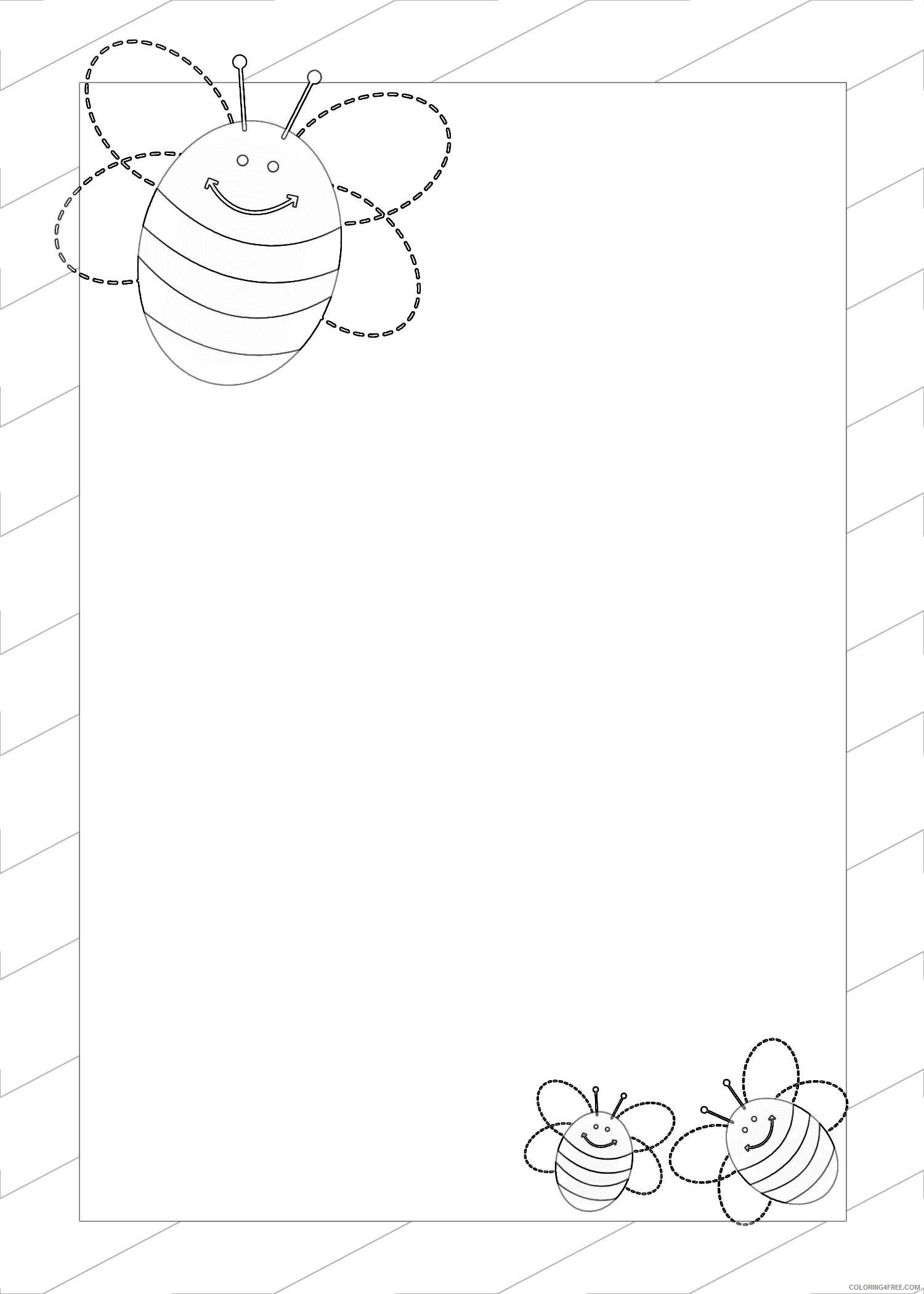 11 spelling bee borders that you can download to you xJONqr coloring