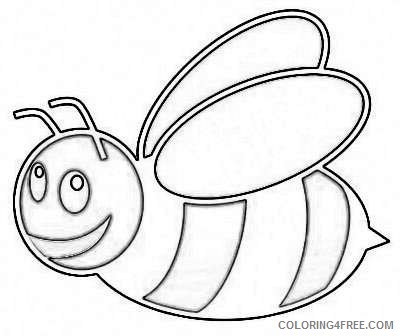 12 cartoon bee pictures that you can download to you VQs0l8 coloring