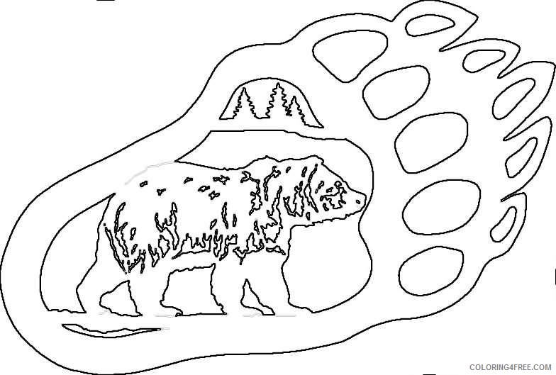 14 bear claw drawings that you can download to you gnjHo6 coloring