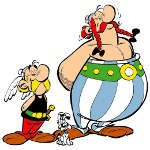 Asterix and Obelix Coloring Pages