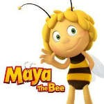 Maya the Bee Coloring Pages