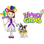 Mardi Gras Coloring Pages