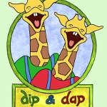 Dip & Dap Coloring Pages