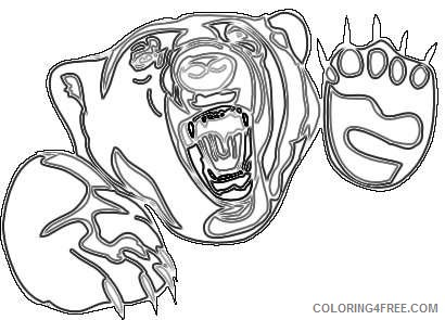 angry bear face sH6tU1 coloring