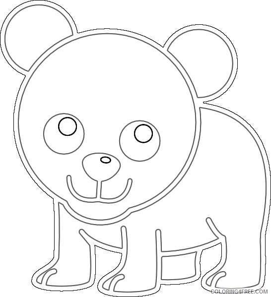 baby cartoon bear online SoCT7a coloring