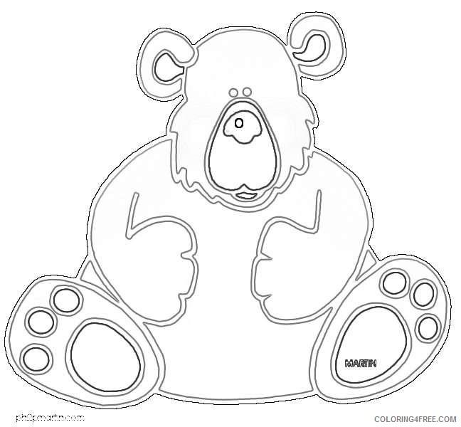 bear 2 coloring