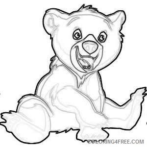 bear 5 kids pedia coloring