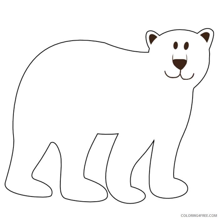 bear black and white Qtn4fI coloring