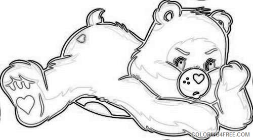 bear coloring_001