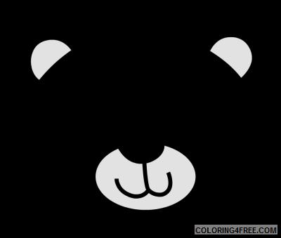 bear face co K12rsu coloring