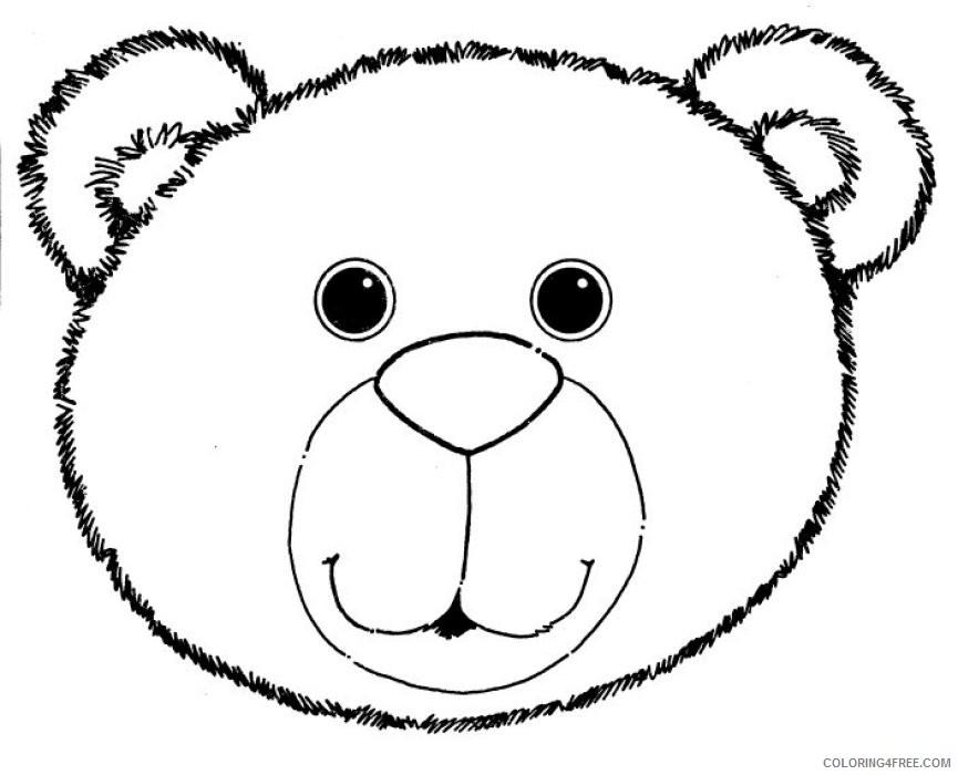bear face co ly6yoz coloring