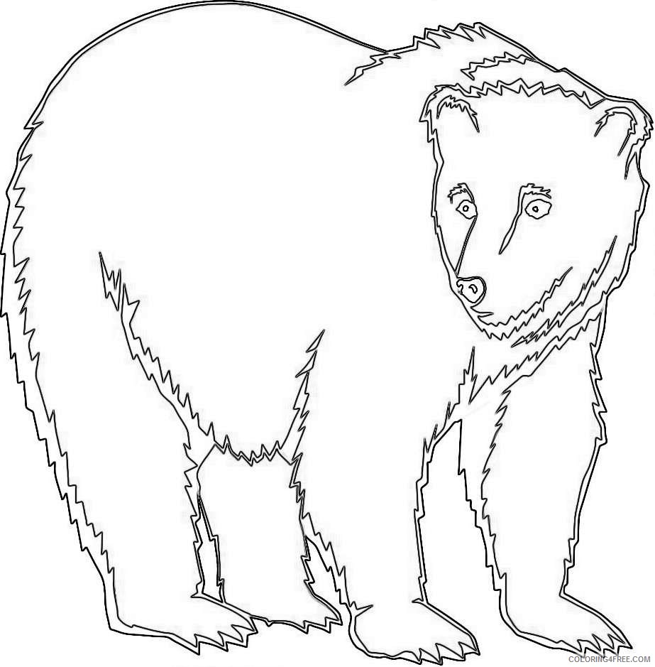 bear for you 2 coloring