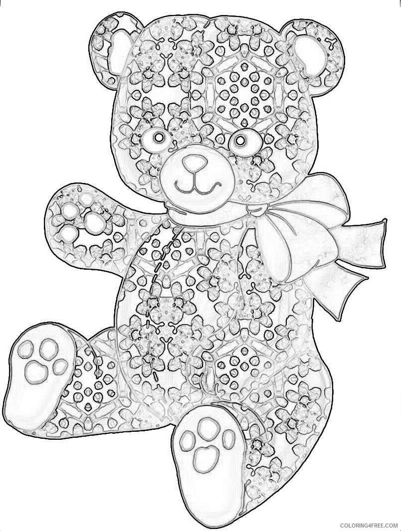 bear from set a05 purple wood roses crafty ieOfMy coloring