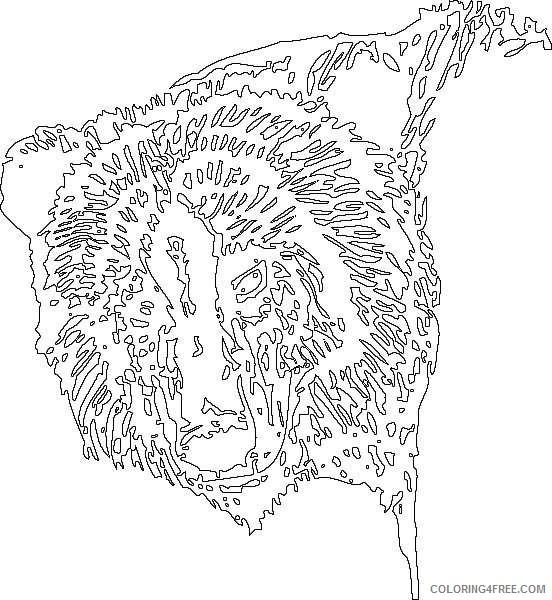 bear head online rYe2SA coloring