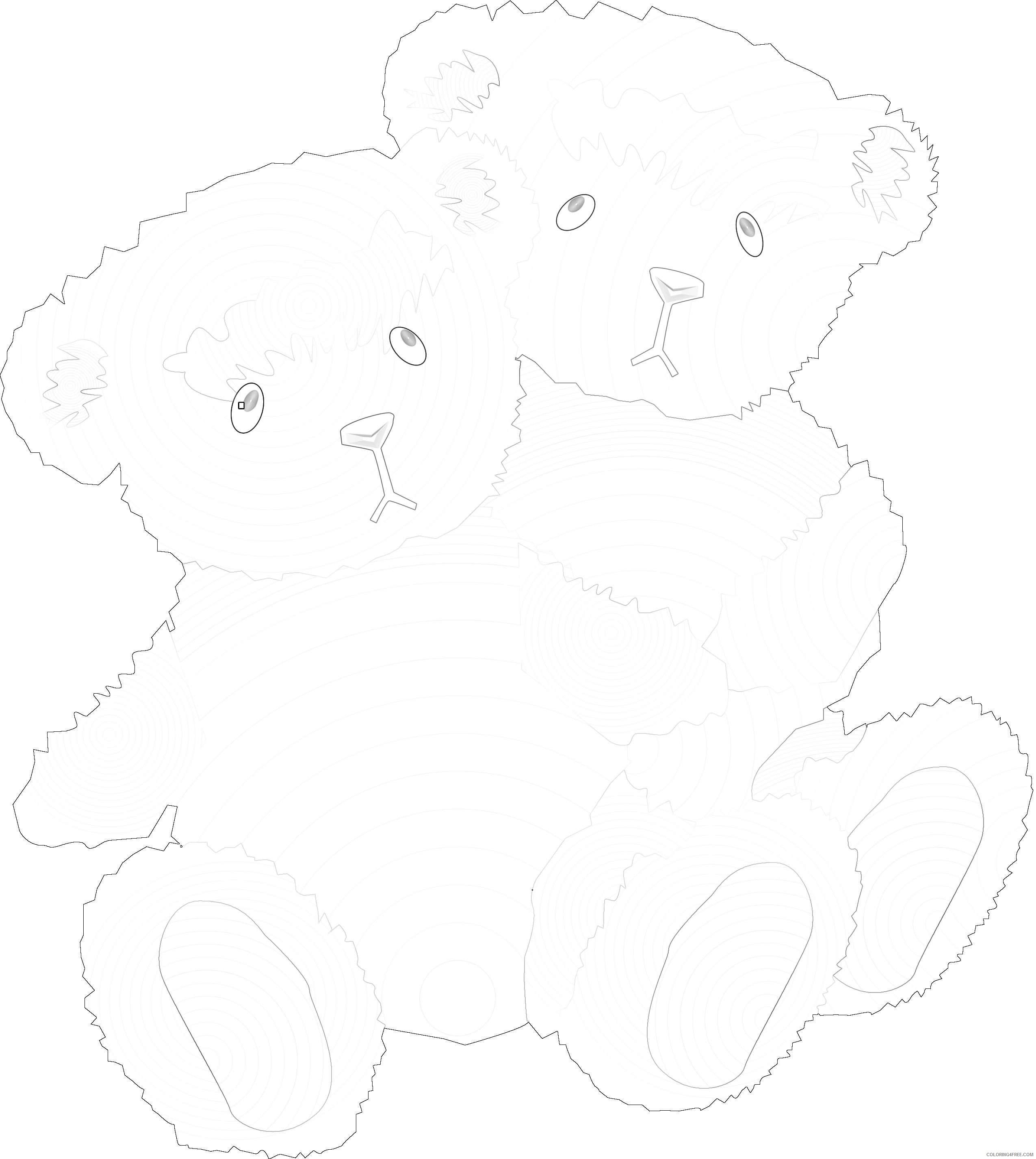 bear hug bear hug bears n1Mu2B coloring