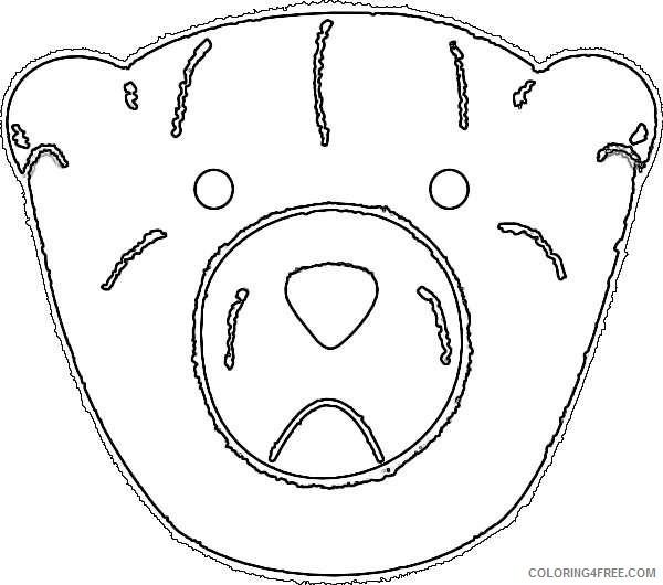 bear outline 8mR7SW coloring