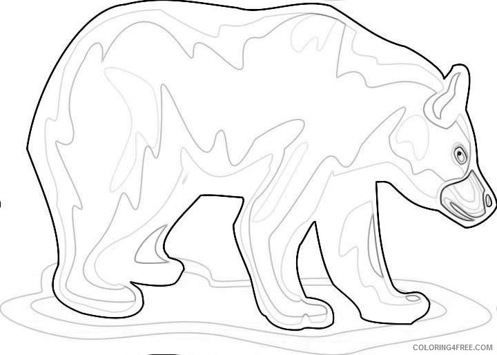 black bear coloring_002