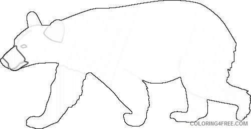 black bear drawing best IqyCCD coloring
