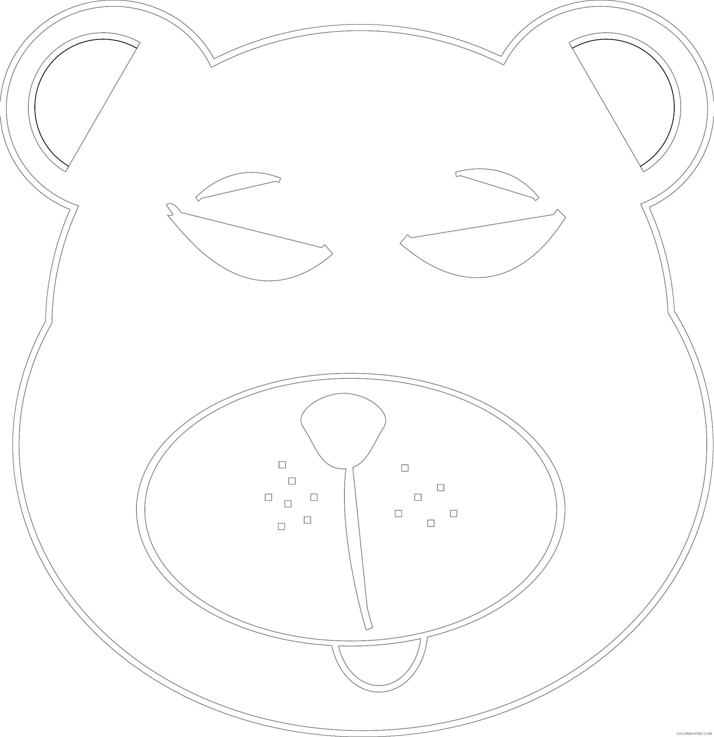 blue bear by newtonguarinof 2LXqi0 coloring