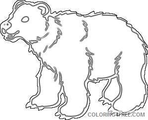 brown bear online e1anTu coloring