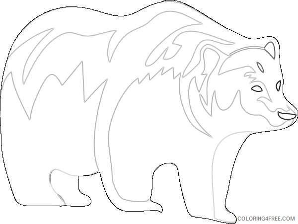 brown bear online x5PJtu coloring