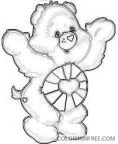 care bear hopeful heart bear on pinterest care bears care bear gbsQ2D coloring