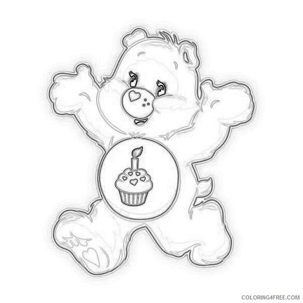 care bears birthday bear run care bear birthday care bears and mEoN6G coloring