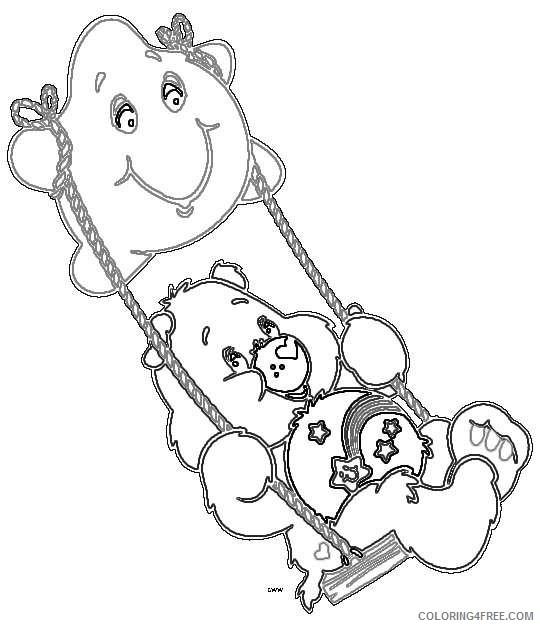 care bears cartoon m5Cw4k coloring