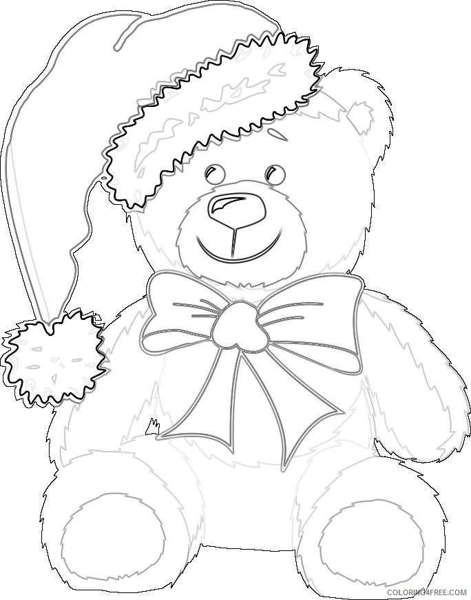 christmas bear best PhYivS coloring