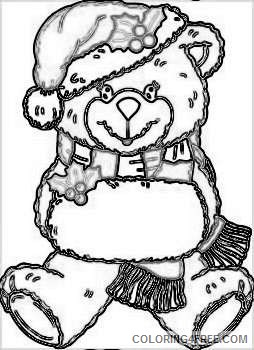 christmas bear graphics and photos 7btYBs coloring