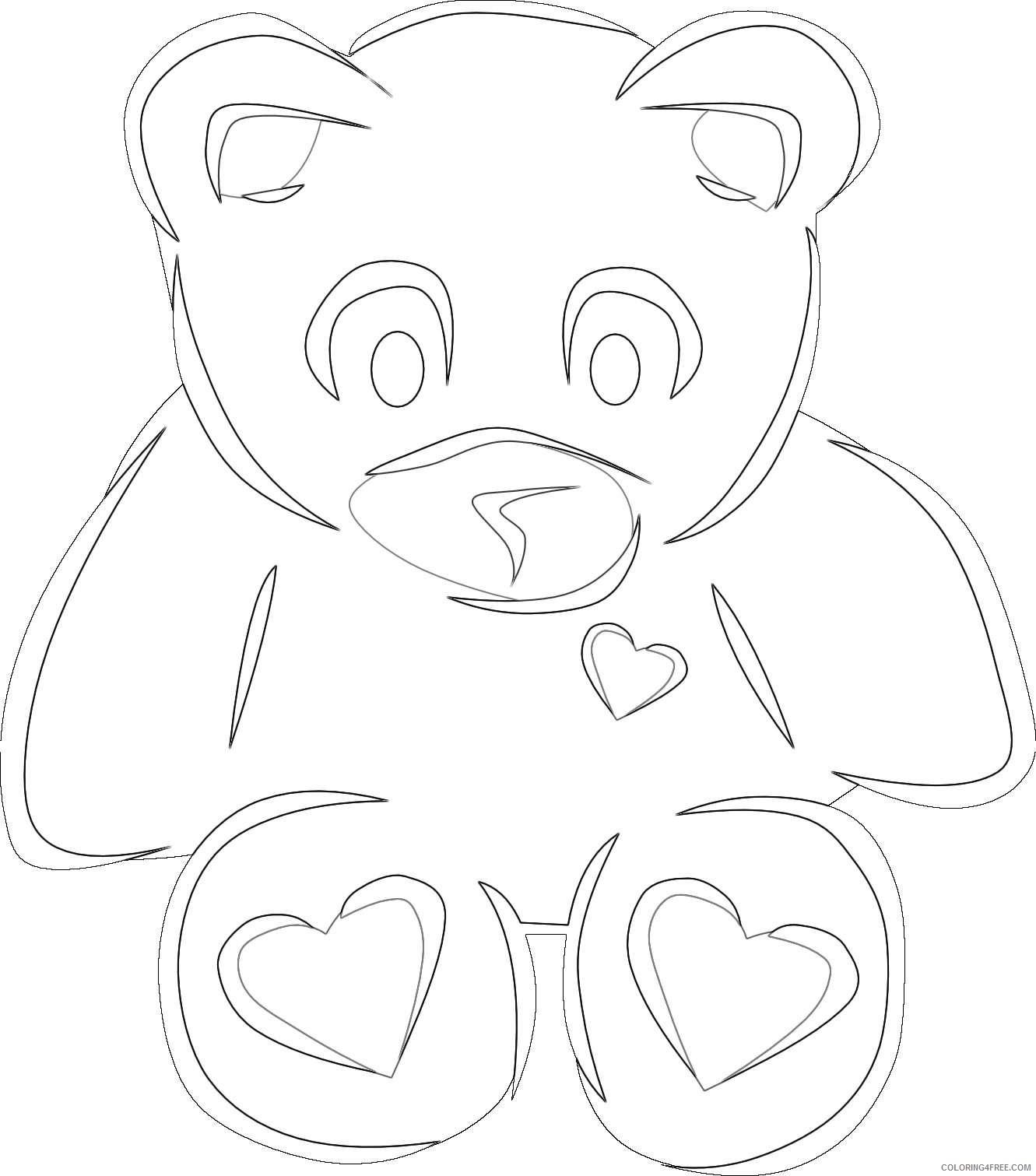 christmas polar bear jpZ3jF coloring