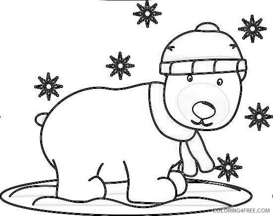 christmas polar bear winter polar bear winter polar bear mVvjub coloring