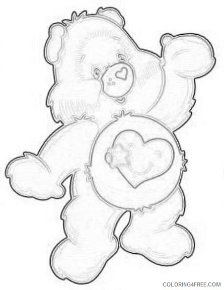 clip art care bears OQL2E9 coloring