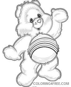 clip art care bears b1GOeC coloring