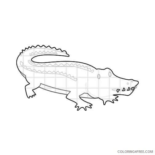 clipart alligator alligator mouth qjzXSN coloring