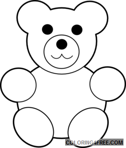 clipart including bear valentine and christmas iqpwi3 coloring